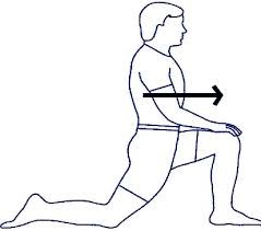 Lunge Stretch Psoas Muscle